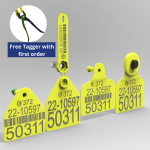 Electronic tag set